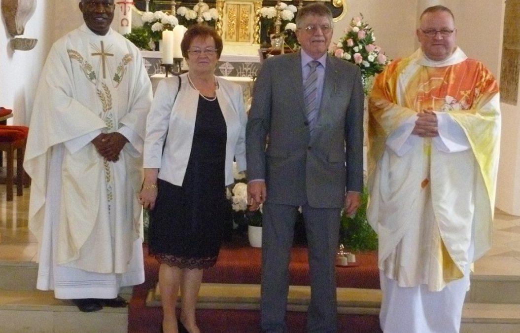Goldene Hochzeit von Laura und Erhard Simbürger