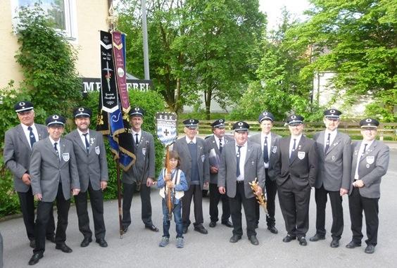 Die KSK-Obersüßbach als Gast in Bruckberg