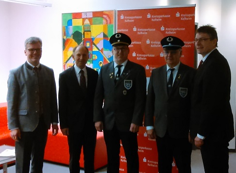 Spendenübergabe an die KSK Obersüßbach
