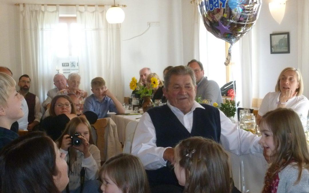 85. Geburtstag von Josef Schober
